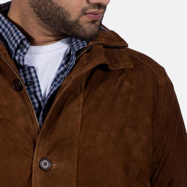 best Sheriff Brown Suede Jacket for Men