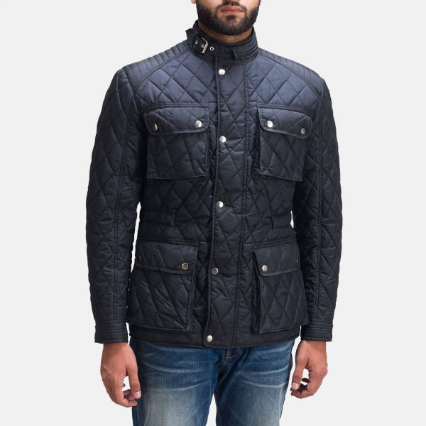 Nelson Quilted Windbreaker Jacket for Men