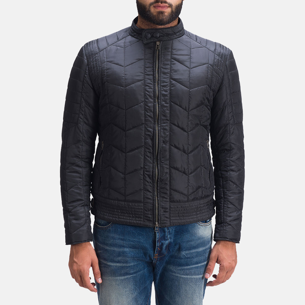 Nyle Quilted Windbreaker Jacket for Men