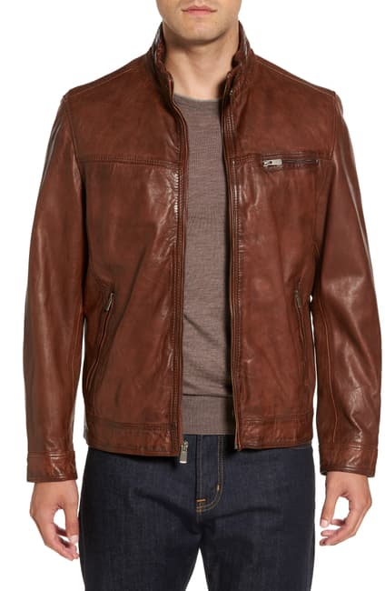 Sueze Leather Jacket for Men