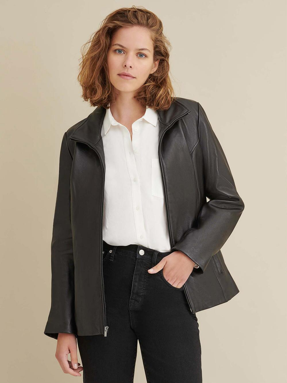 Thinsulate Leather Jacket for Women