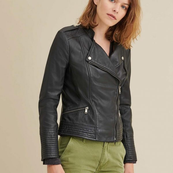 best Asymmetrical Leather Jacket for Women