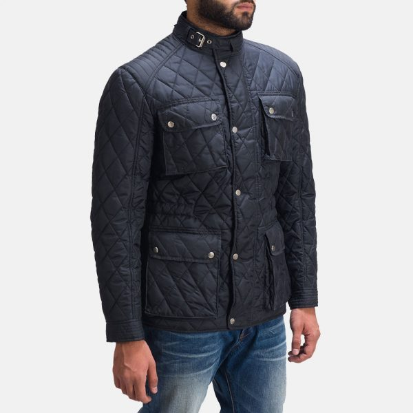 best Nelson Quilted Windbreaker Jacket for Men