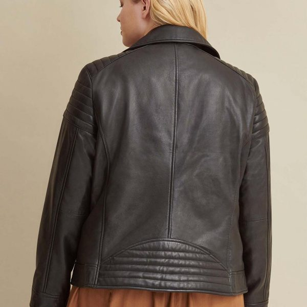 best Plus Size Leather Jacket for Women