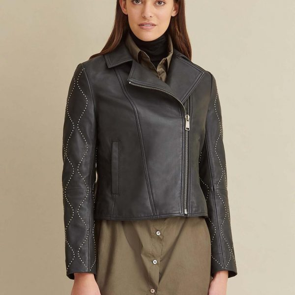 best Roxy Studded Leather Jacket for Women