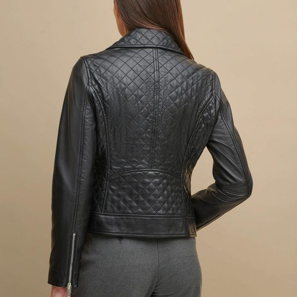 new Green Leather Jacket for Women