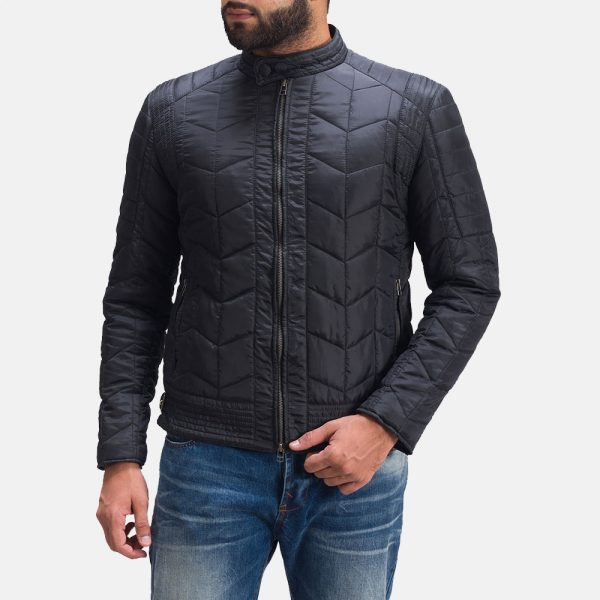 new Nyle Quilted Windbreaker Jacket for Men