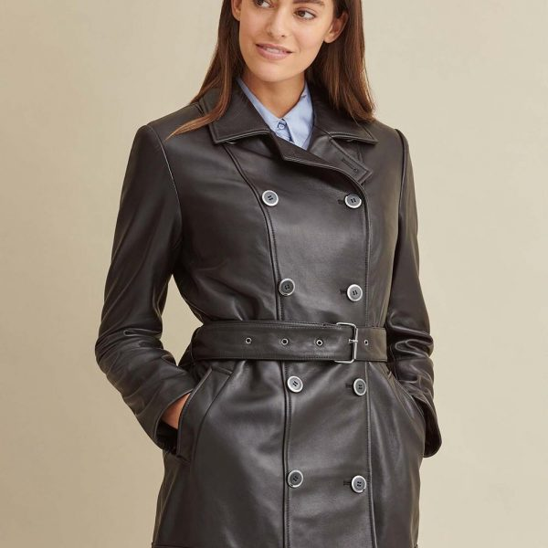 new Thinsulate Leather Trench for Women