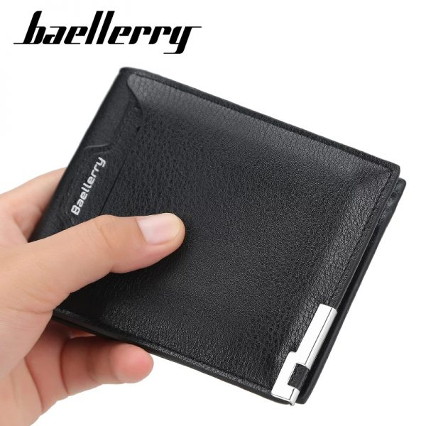 Baellerry Slim Soft PU Leather Wallet with Cardholder